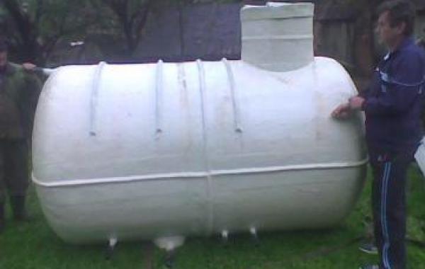 Rezervor (bazin) apa 3500 litri